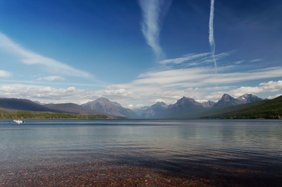 Flathead Lake, Glacier National Park, Montana
