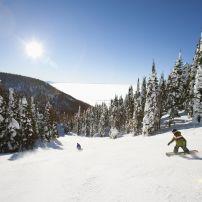 Ski Slope, Whitefish, Montana