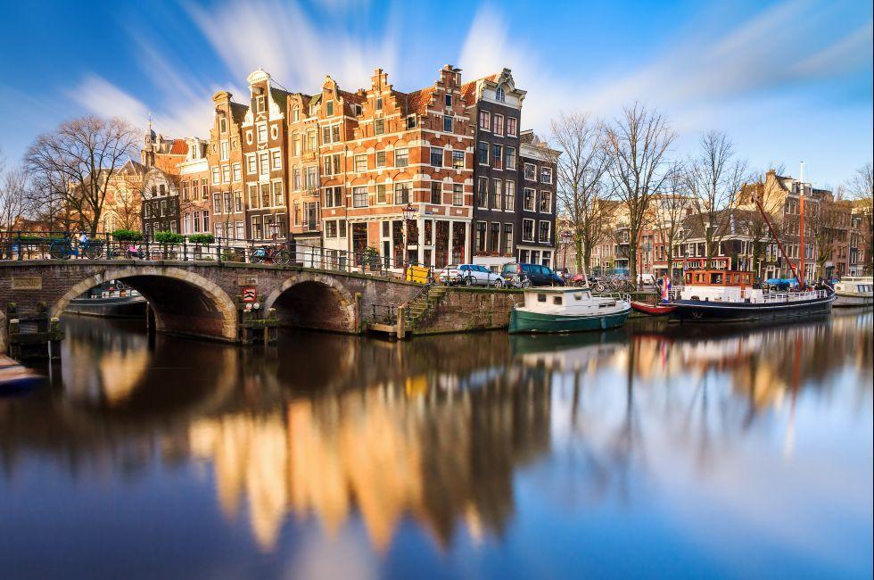 Brouwersgracht, Prinsengracht, Jordaan, Amsterdam, Netherlands, Europe
