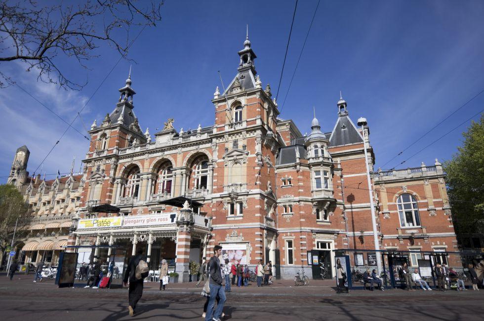 Stadsschouwburg Theater, Jordaan and Leidseplein, Amsterdam, Holland