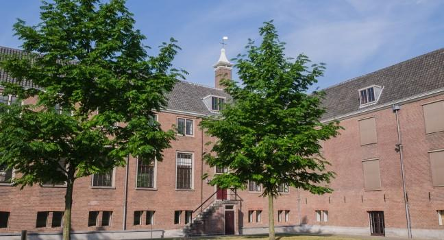 Courtyard, Hermitage Amsterdam, Amsterdam, Holland