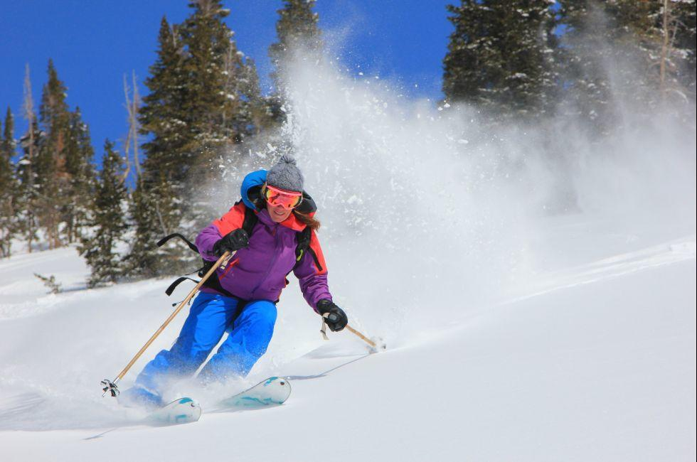 Skier, Utah