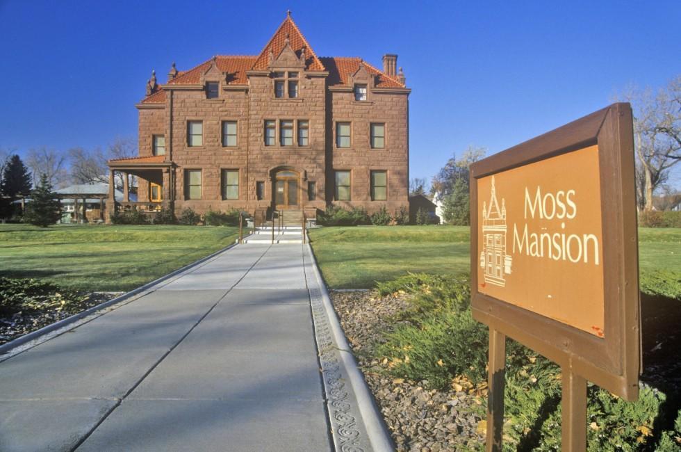 Moss Mansion, Billings, Montana, USA