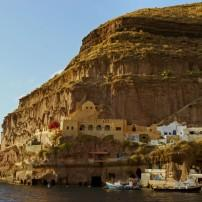 House, Harbor, Thira, Santorini, The Cyclades, Greece,