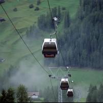 Gondola, Rinerhorn, Graubunden, Switzerland