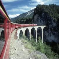The Landwasser Viaduct, Graubünden, Switzerland