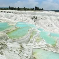 Travertine Pools, Pamukkale, Turkey