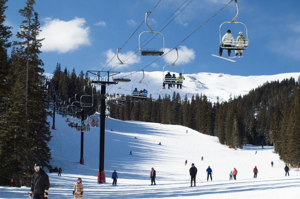 Skiing, Loveland Basin, Colorado