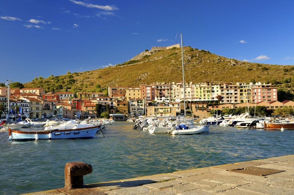 Porto Ercole Italy Italy Harbor Porto Ercole