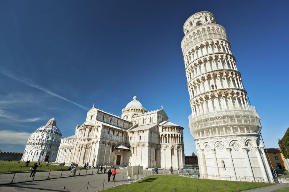 Piazza dei Miracoli, Leaning Tower of Pisa, Pisa, Tuscany, Italy