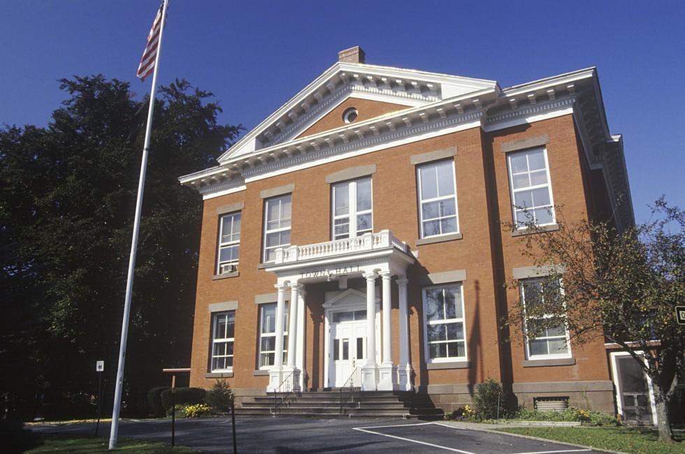 Town Hall, Great Barrington, Massachusetts, USA