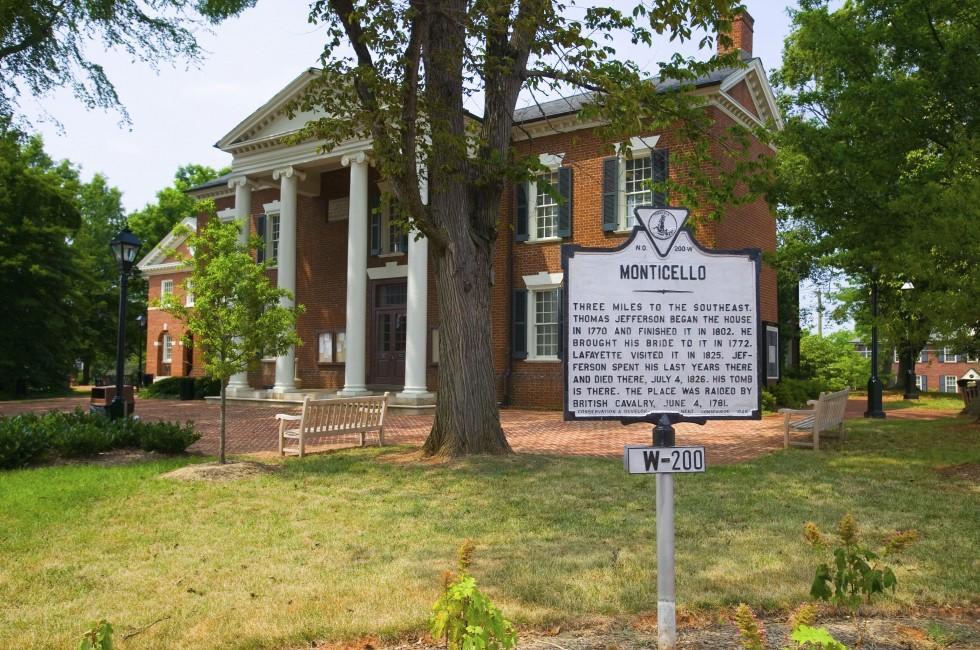 Historic District, Charlottesville, Virginia, USA