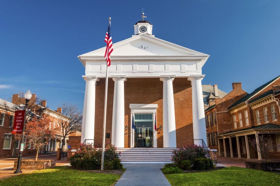 Old Frederick County Courthouse, Winchester, Virginia, USA