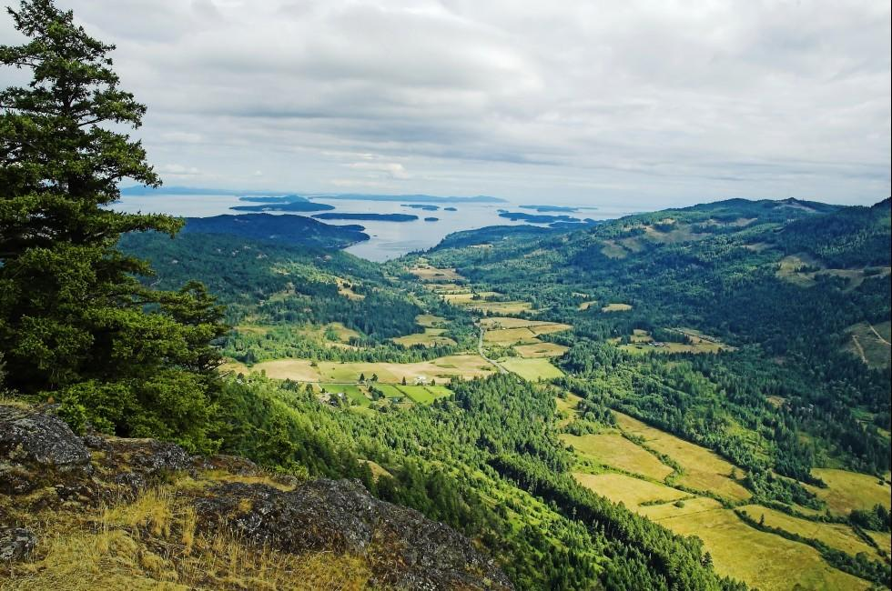 Mount Maxwell, Salt Spring Island, British Columbia, Canada