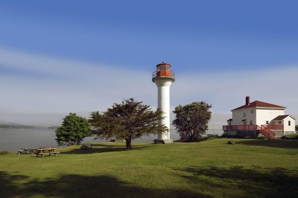 Lighthouse, Mayne Island, Vancouver, Canada
