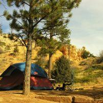 Campground, Bryce Canyon National Park, Utah