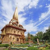 Buddhist Temple, Wat Chaitharam, Wat Chalong, Phuket, Thailand