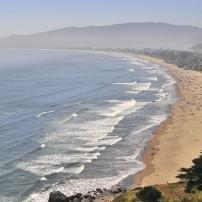 Coastline, Stinson Beach, California, USA