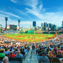 PNC Park, North Shore, Pittsburgh, Pennsylvania, USA, North America