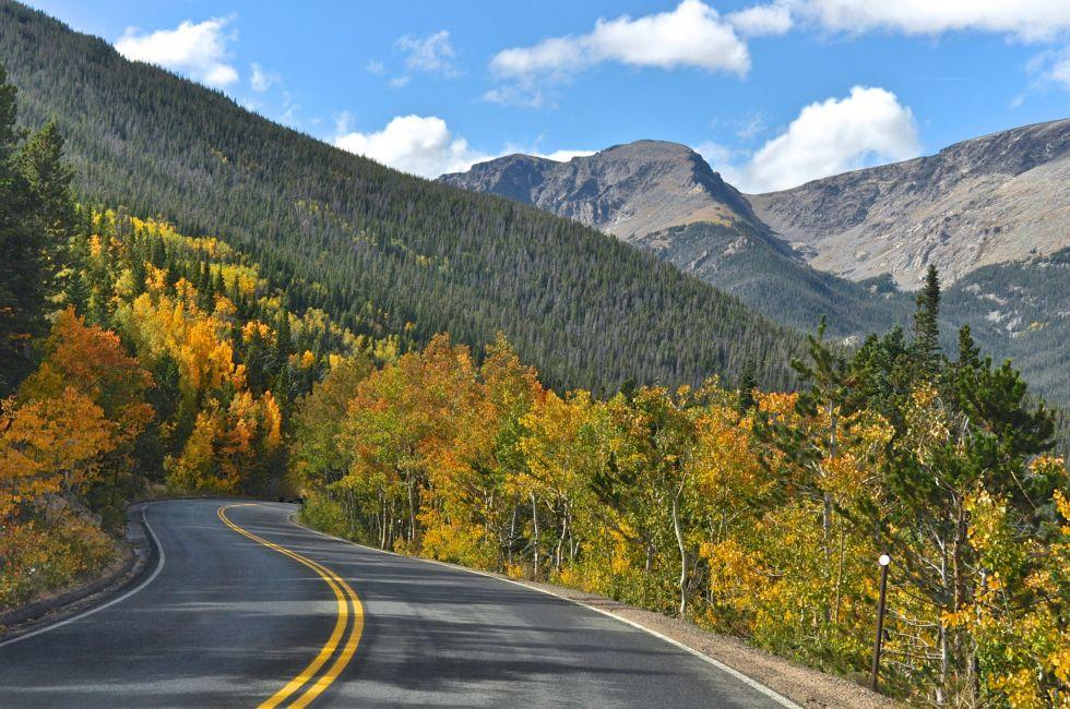 Trail Ridge Road, Rocky Mountain National Park, Colorado, USA