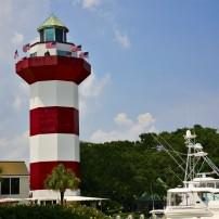 Lighthouse, Harbor Town, Hilton Head Island, South Carolina, USA