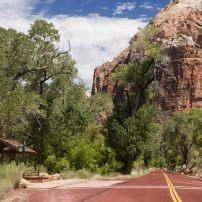 Road, Zion National Park, Utah