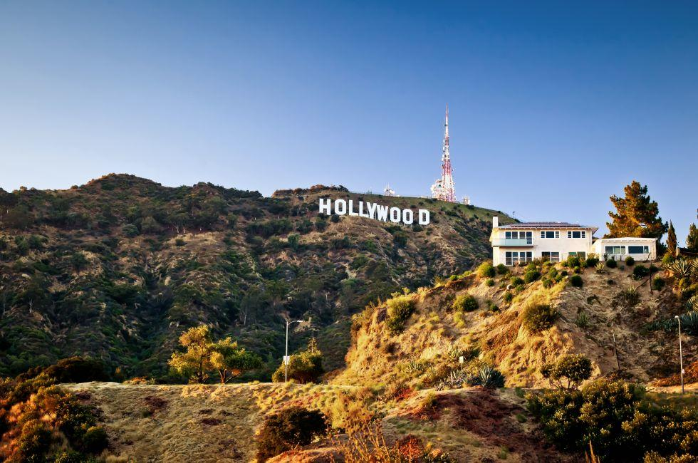 Hollywood Sign, Hollywood, Los Angeles, California, USA.