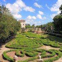 Garden, Magnificent Vizcaya, Coconut Grove, Miami, Florida, USA
