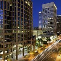 Downtown, Night, Phoenix, Arizona, USA