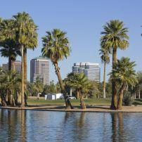 Encanto Park, Downtown, Phoenix, Arizona, USA