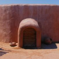 Hohokam Pithouse Replica, Pueblo Grande Museum Archeological Park, Phoenix, Arizona, USA