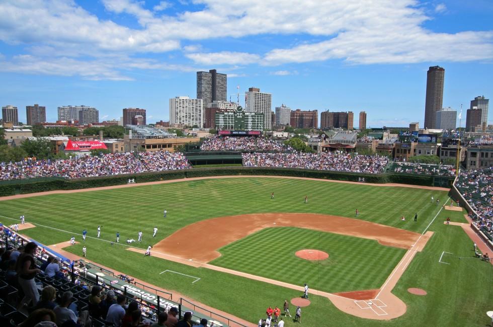Wrigley Field, Chicago, Illinois, USA