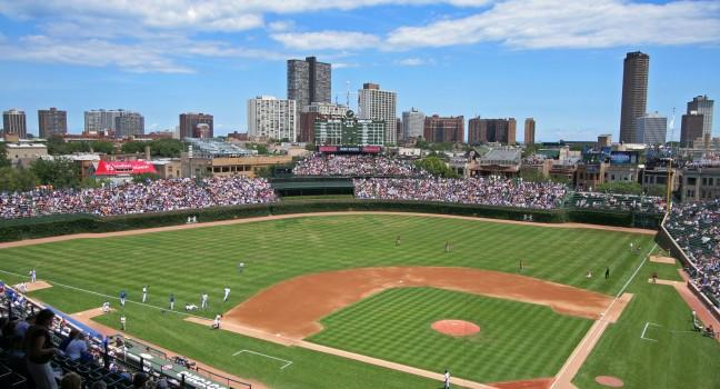 Wrigley Field, Chicago, Illinois, USA