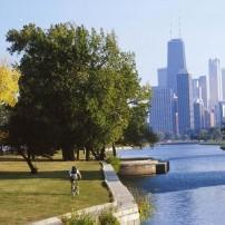 Lincoln Park, Wicker Park, and Bucktown, Chicago, Illinois, USA
