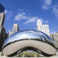 Chicago Bean, Millennium Park, The Loop, Including West Loop and South Loop, Chicago, Illinois, USA