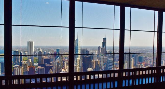 John Hancock Observatory, Chicago, Illinois, USA