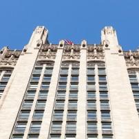 Tribune Tower, Chicago, Illinois, USA