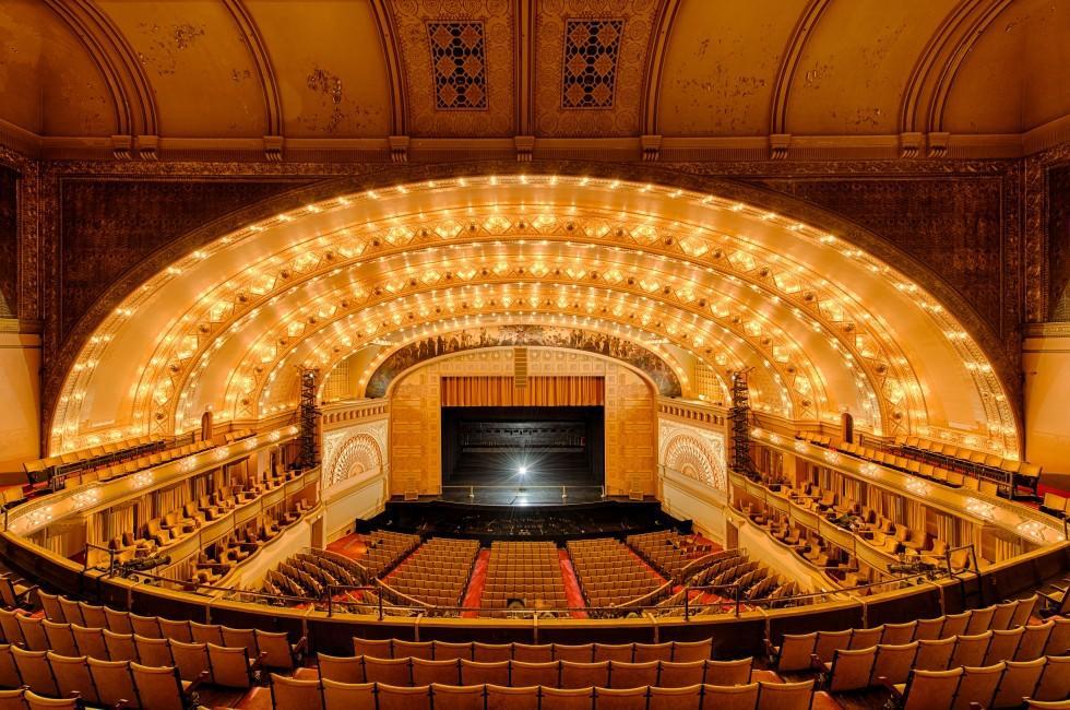 Auditorium, Auditorium Theatre, Chicago, Illinois, USA