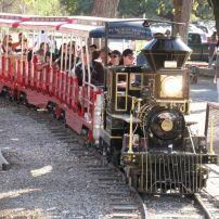 Family, Train, Brackenridge Park, San Antonio, Texas