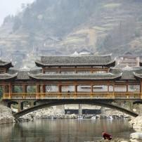 Bridge, Xijiang Hmong, China