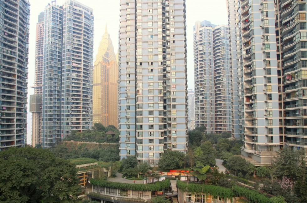 Apartments, Cityscape, Chongqing City, China