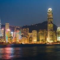 Waterfront, Skyline, Night, Chongqing, China