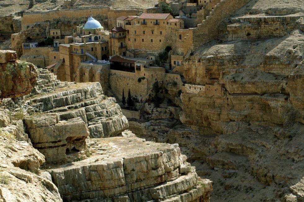 Judean Desert Monastery, Israel