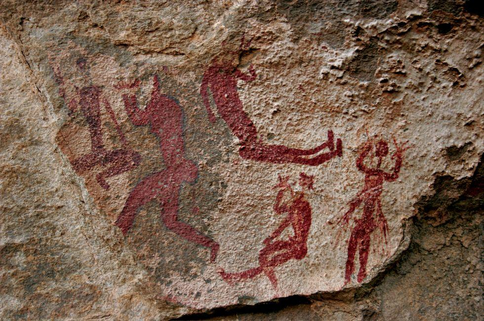 Cave Paintings, South Africa, Africa