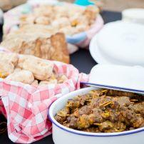 Roasted Bread, Mutton Kebabs, South Africa, Africa