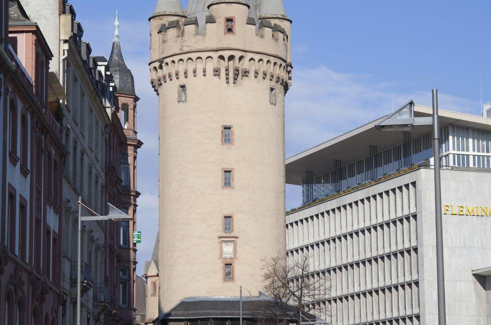 Eschenheim Tower, Frankfurt, Germany