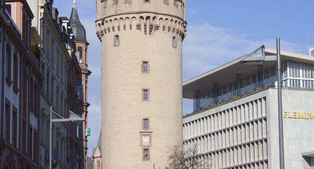 Eschenheim Tower, Frankfurt, Germany
