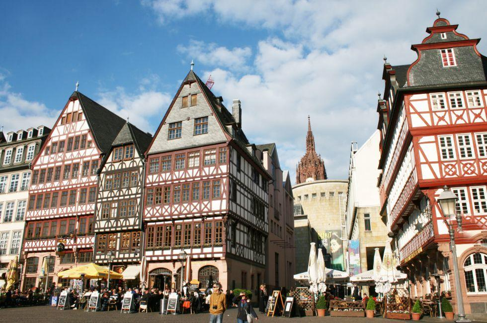 The Romer Square, Frankfurt am Main, Germany