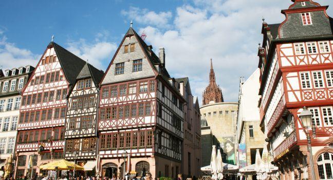 The Romer Square, Frankfurt am Main, Germany