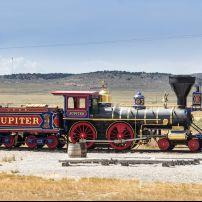Locomotive, Golden Spike Historical Site, Utah